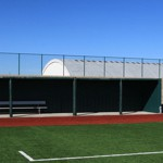 LCU Hayes Field Dugouts